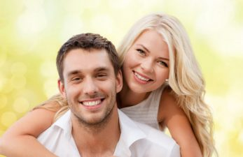 Couple Smiling After Porcelain Veneers Jefferson GA