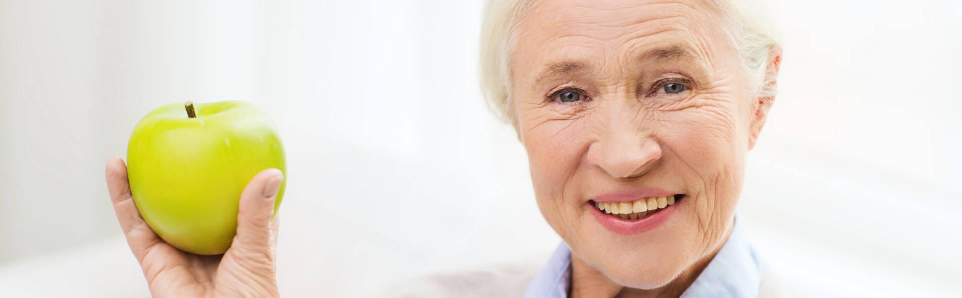 Elderly Patient After Receiving a Dental Crown from Jefferson Dental Care GA