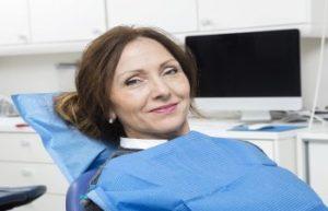 Dental Patient Sitting in a Dentist Chair Jefferson GA